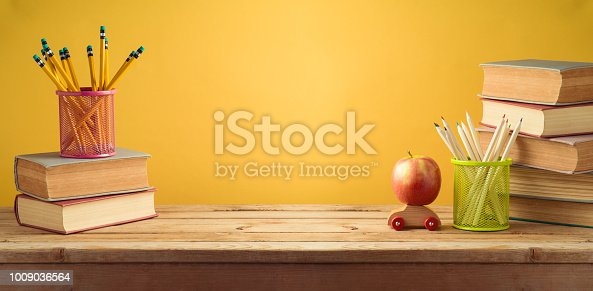 istock Back to school background 1009036564