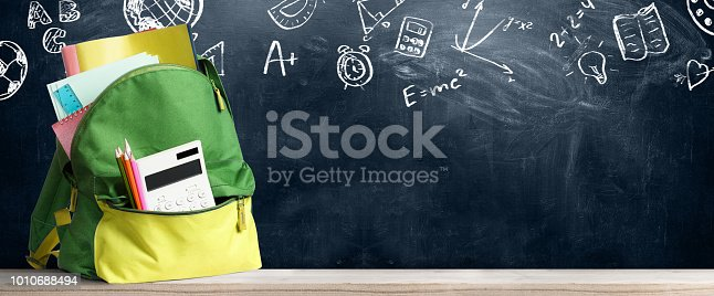istock Back to school backpack. 1010688494