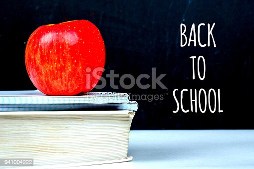 istock back to school, chalk message on black board 941004222
