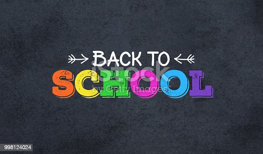 istock Back to School Colorful Text 998124024