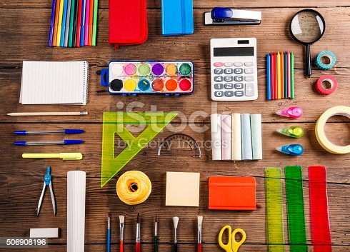 818533812 istock photo Back to school composition 506908196