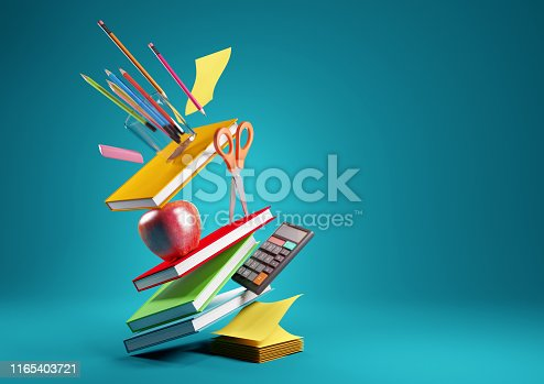 istock Back To School Concept Background 1165403721
