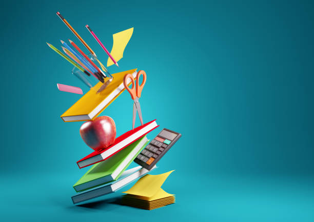 Back To School Concept Background stock photo