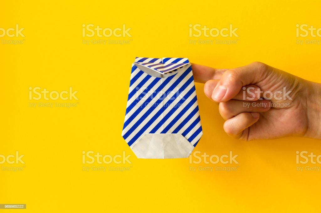 DIY | 3D Origami | Papier Stifte Deko | Paper Pencil / Pen | Back ... | 682x1024