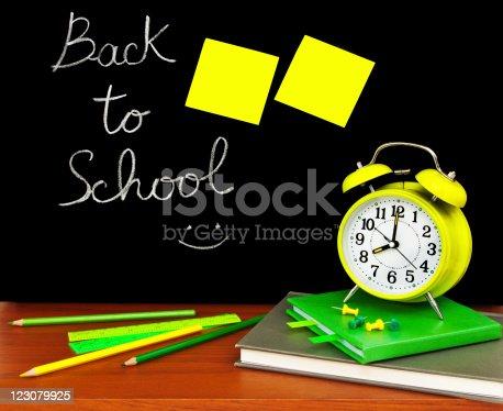 istock Back to school concept 123079925