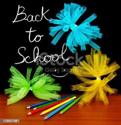 istock Back to school concept 123507581