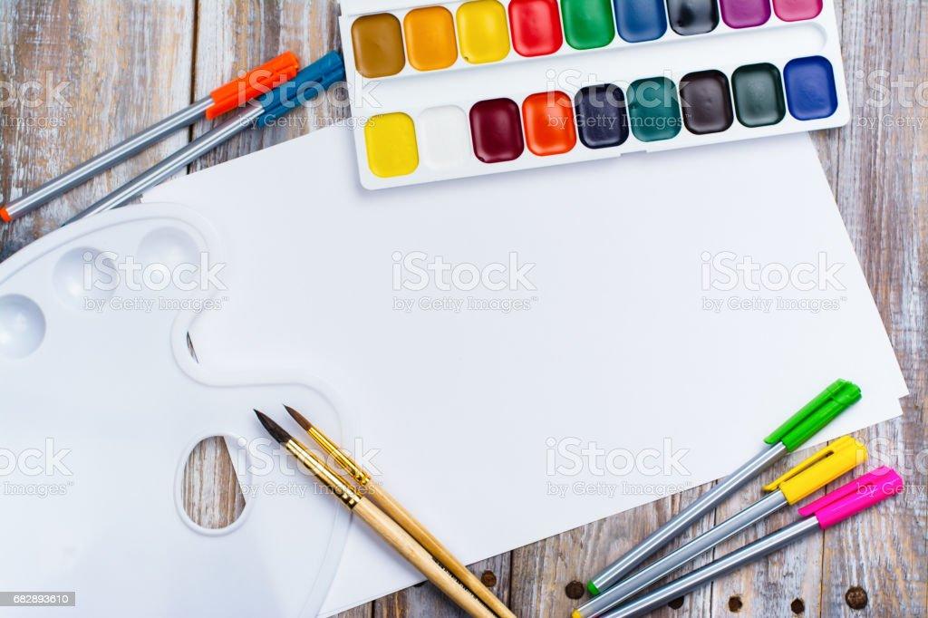 Back to school concept Lizenzfreies stock-foto