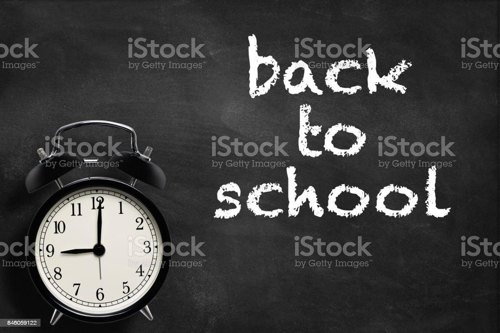 Zurück zu Schule Konzept  – Foto