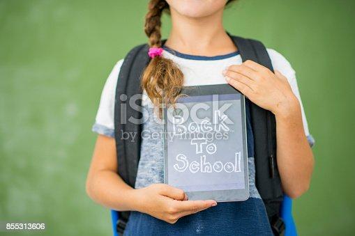 istock Back To School Concept 855313606