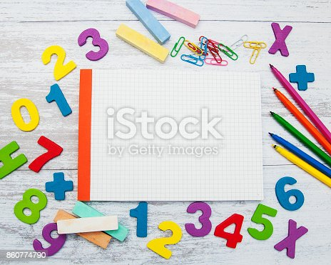 istock Back to school concept 860774790
