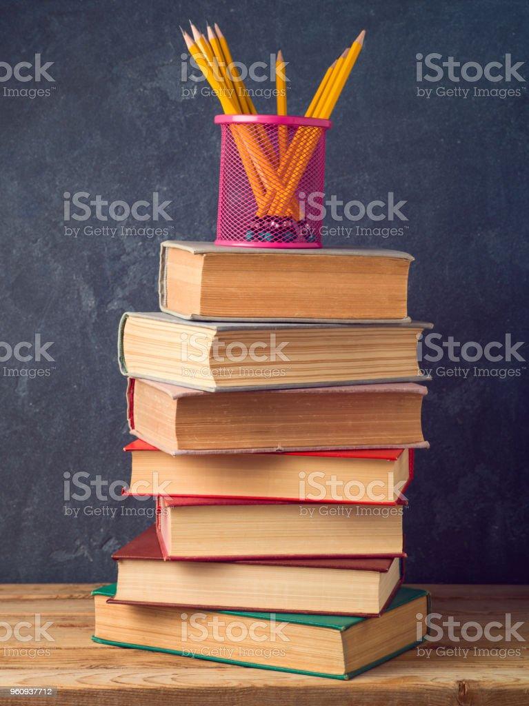 Zurück zu Schule Konzept  - Lizenzfrei Akademisches Lernen Stock-Foto