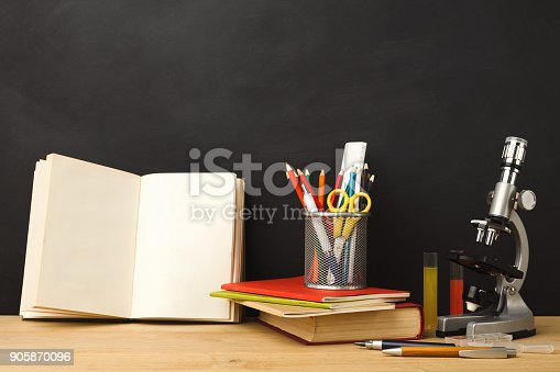 istock Back to school conceptual background 905870096