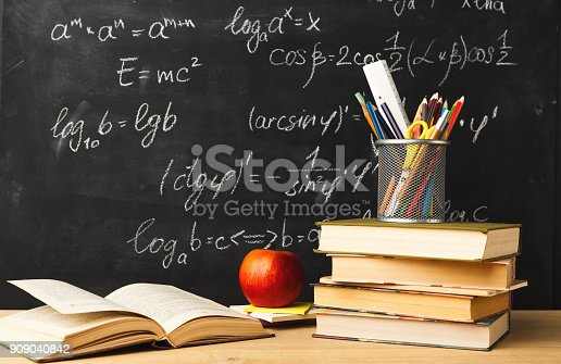istock Back to school conceptual background 909040842