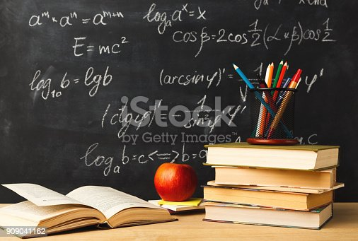 istock Back to school conceptual background 909041162