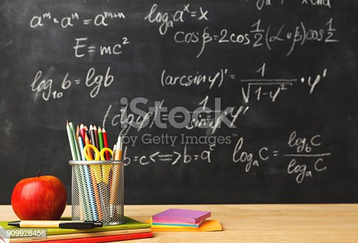istock Back to school conceptual background 909926456