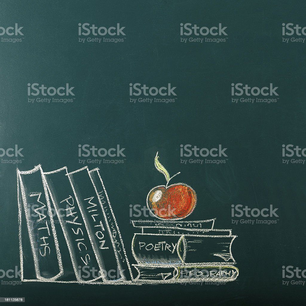 Back To School Drawing stock photo