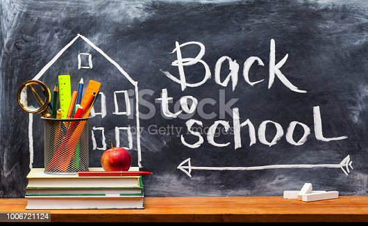 istock Back to school. Education background concept . 1006721124