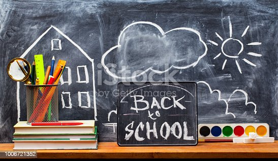 istock Back to school. Education background concept . 1006721352