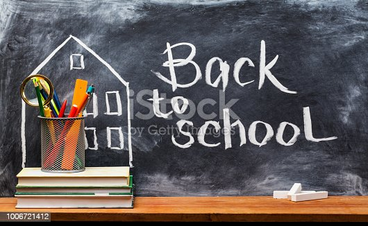 istock Back to school. Education background concept . 1006721412