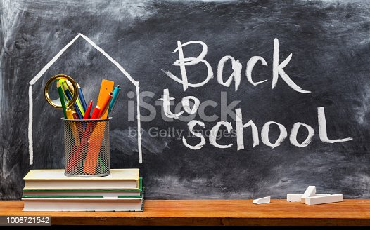 istock Back to school. Education background concept . 1006721542