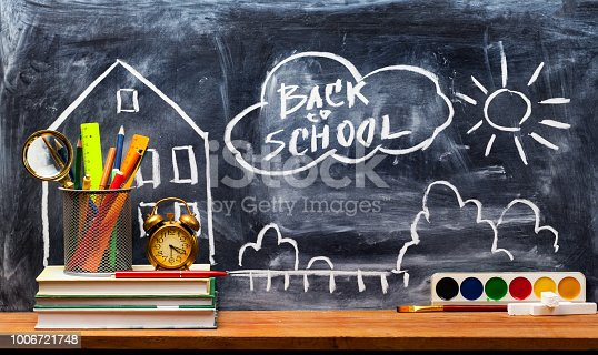 istock Back to school. Education background concept . 1006721748