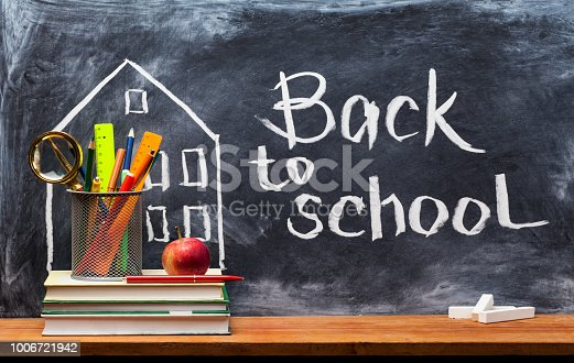 istock Back to school. Education background concept . 1006721942