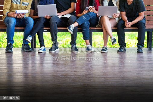 istock Back to school education knowledge college university concept 962192150