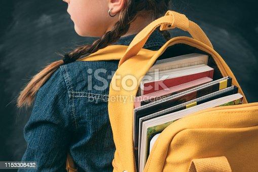 istock back to school girl study full backpack books 1153308432