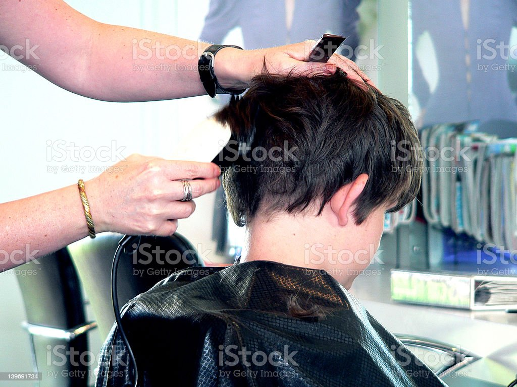Back To School Haircut Stock Photo More Pictures Of Barber Istock