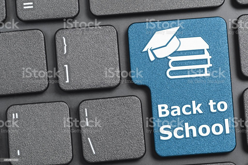 Back To School Key On Keyboard Stock Photo - Download Image Now - iStock