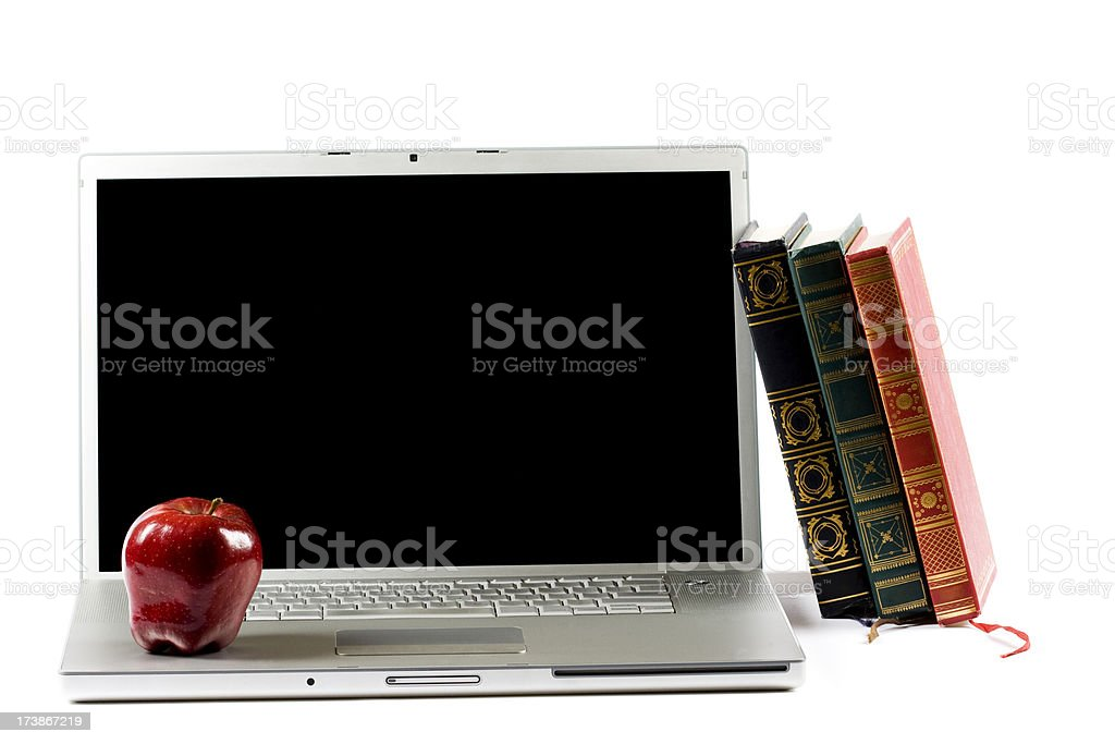 Back to School Laptop royalty-free stock photo