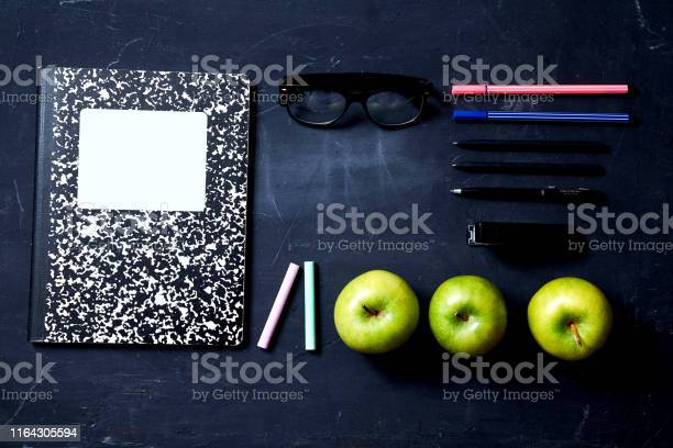 Back to school or student and education concept top view flat lay picture id1164305594?b=1&k=6&m=1164305594&s=612x612&h=ifoqqsu6f6e9k9wpndfqrsrxgzphkz6f1glzu5db iy=
