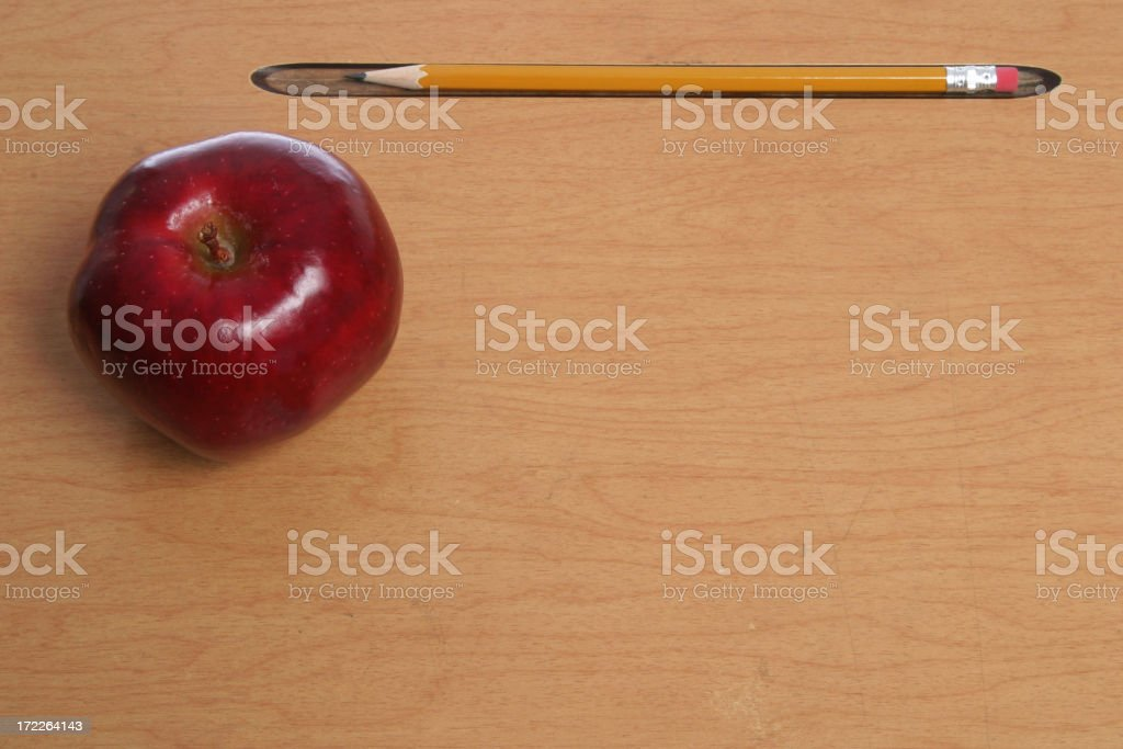Back to School (with copyspace) royalty-free stock photo