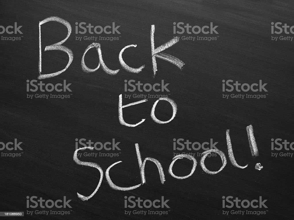Back to School! royalty-free stock photo
