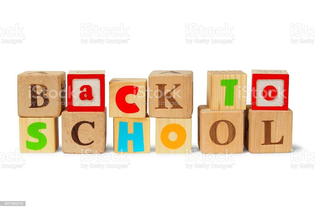 Vuelta a la escuela  - foto de stock