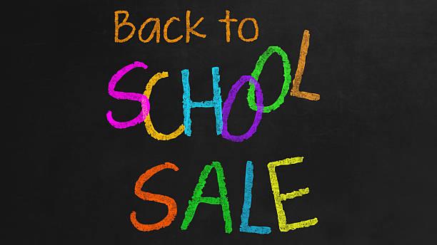 Zurück zur Schule-Sale – Foto