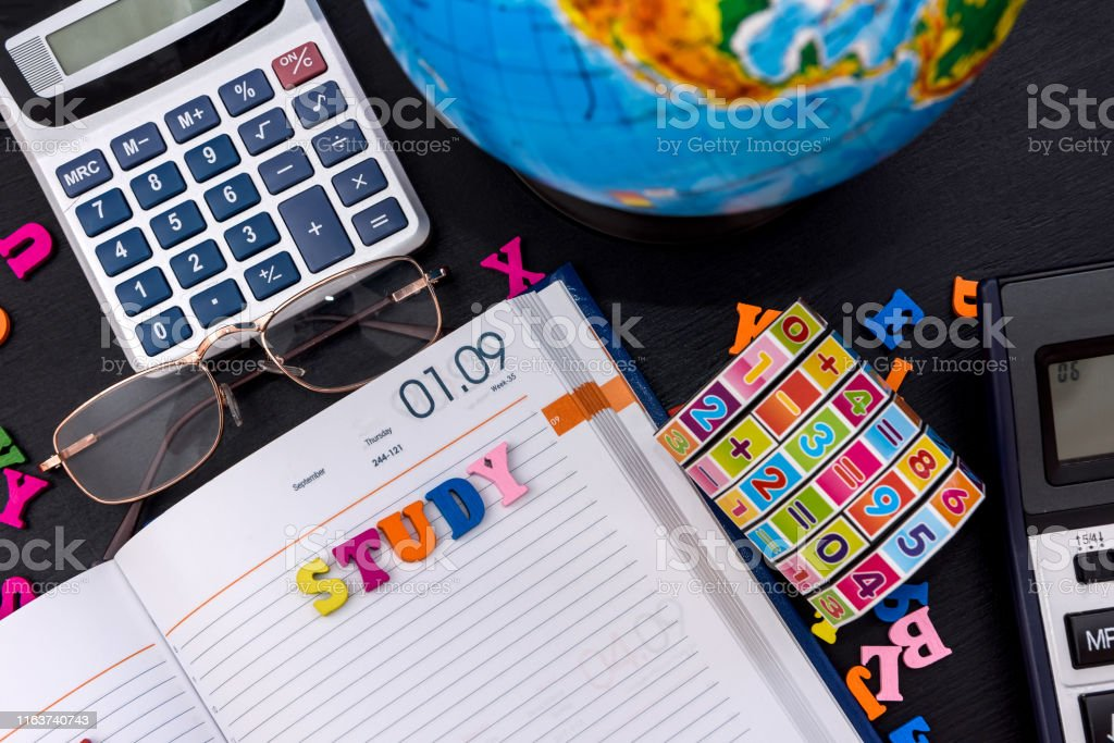Back to school, September 1st, studying tools