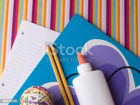 istock Back to School Supplies - 3 90845235