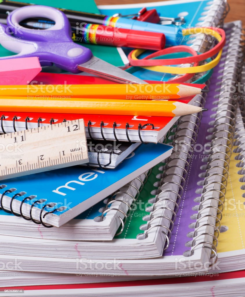 Back To School Supplies - Royalty-free Back to School Stock Photo