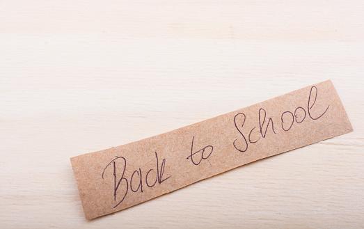 Terug Naar School Thema Op Onderwijs Stockfoto en meer beelden van Begin van het schooljaar