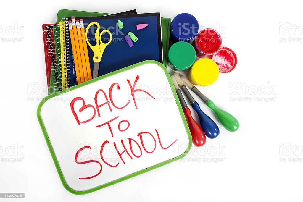 Back To School Theme royalty-free stock photo