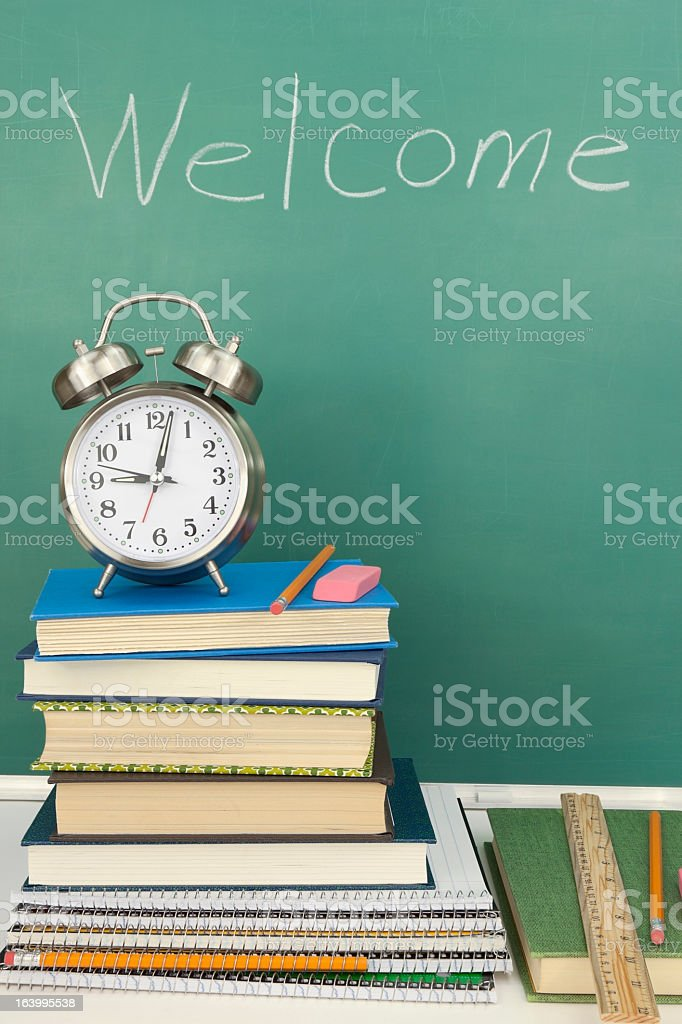 Back to School Time royalty-free stock photo