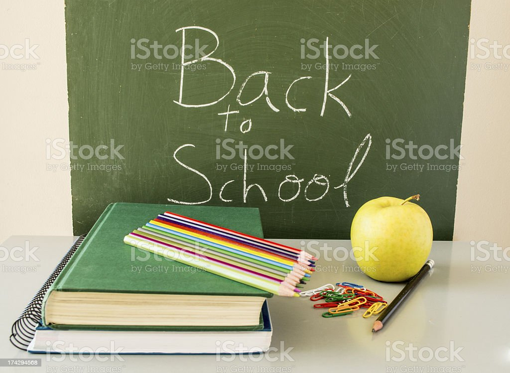 back to school with healthy food royalty-free stock photo