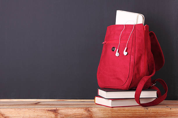 Back to school with style stock photo