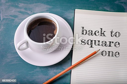 istock Back to square one 683980430