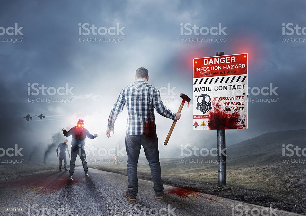 Back To The Dead stock photo
