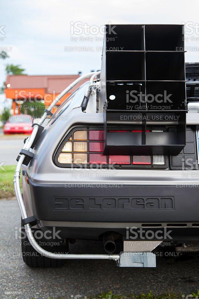 Back to the Future Inspired DeLorean stock photo