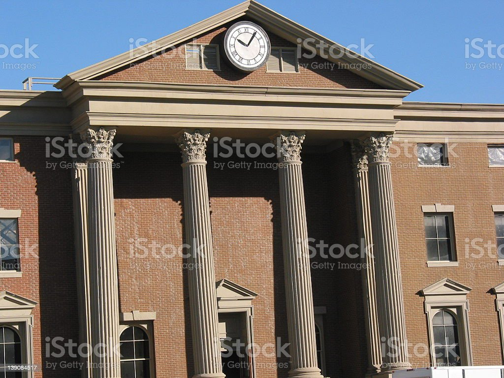 Back To The Future stock photo