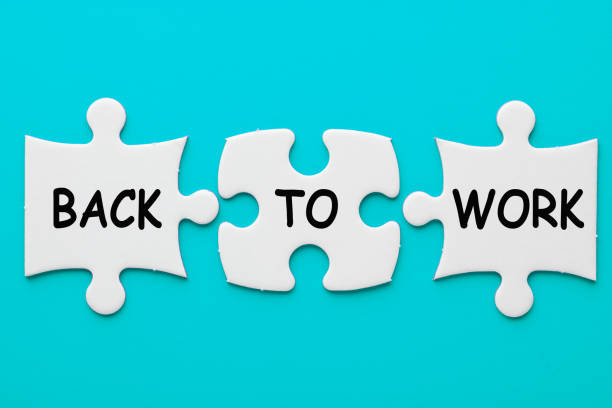 Back To Work Concept stock photo
