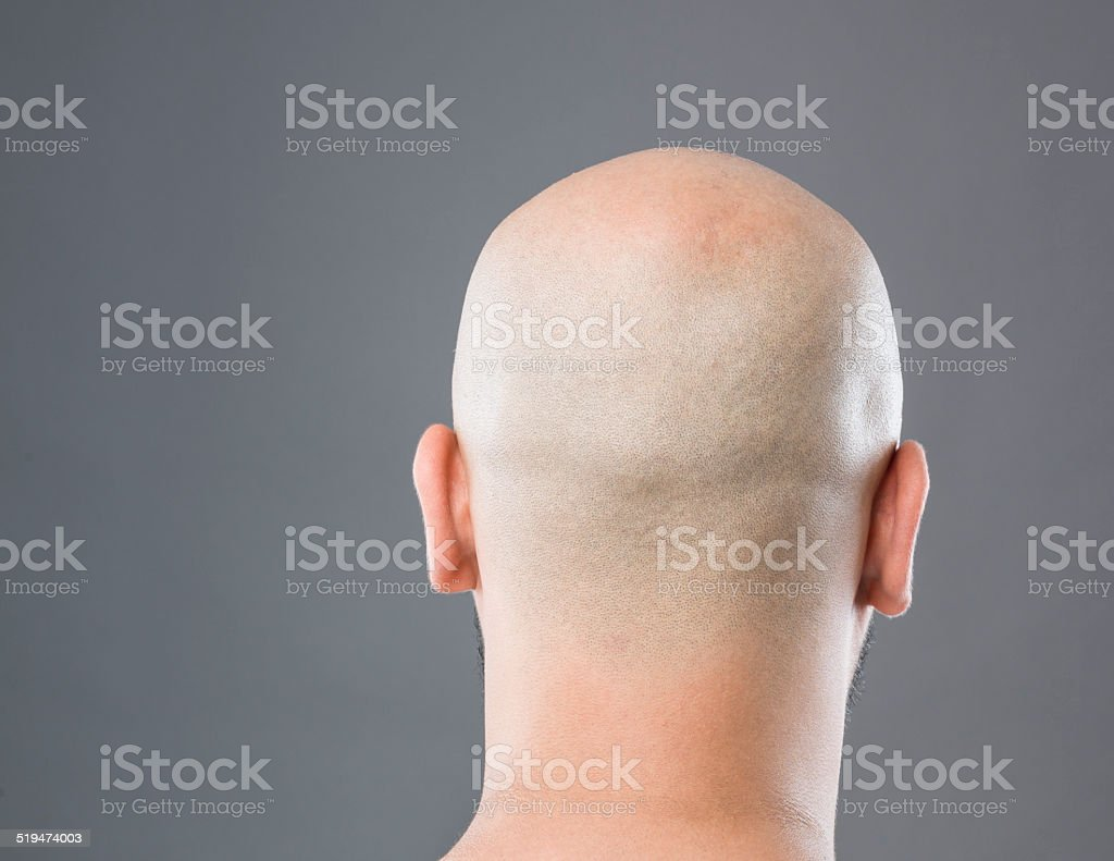 how to make bald head